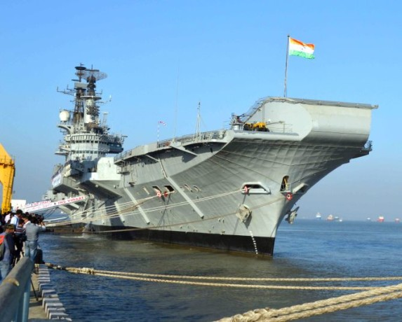 INS Viraat Decommissioned After 30 Years From Indian Navy