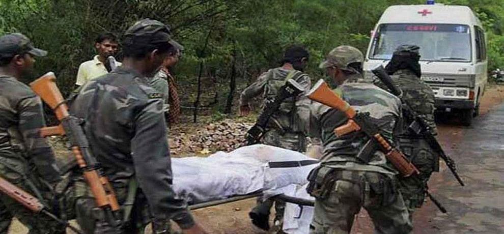 Naxal attack, 9 jawans martyrs in Chhattisgarh