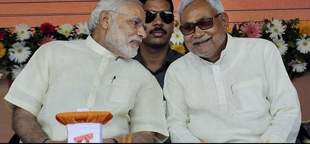 RJD vice presidents claims that bihar cm nitish kumar helped to bjp for victory in UP elections