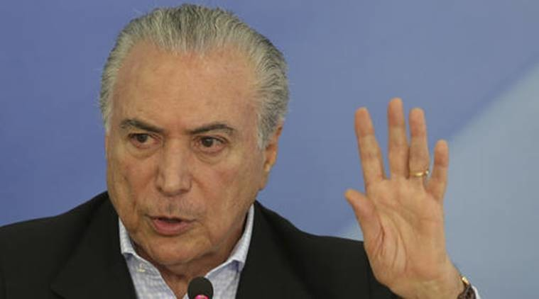 Ghosts' drive Brazil's president from residence