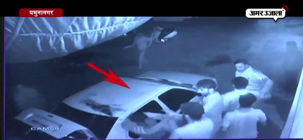 VIDEO VIRAL: Alcohol Contractor kidnapped shopkeeper in yamunanagar