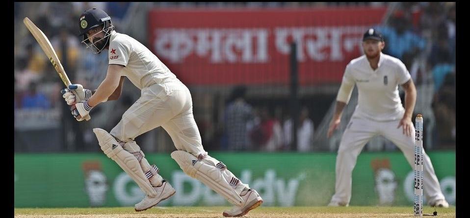 Indvsaus: Murli Vijay And K L Rahul Lead India
