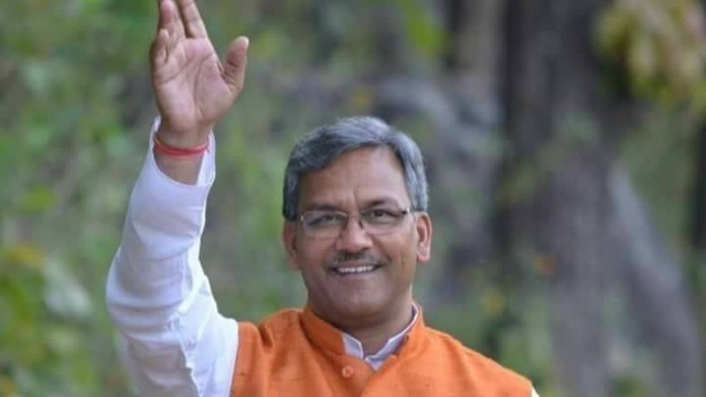 TRIVENDRA SINGH RAWAT APPOINTED AS NEXT CM OF UTTARAKHAND