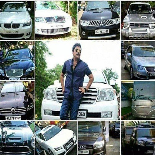 south indian actor mamuti has 369 car collection