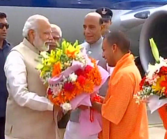 Yogi adityanath's name was fixed in a three-hour meeting at PM House