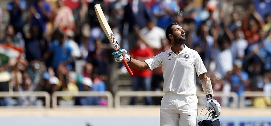 When Cheteshwar Pujara Tested the Patience Of Bowlers