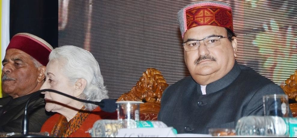 union health minister jp nadda hits out at himachal govt