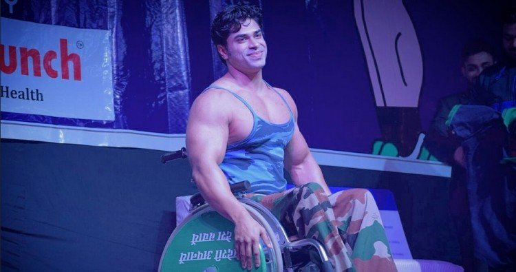 Muscle On Wheels: Story of India's first wheelchair bound bodybuilder anand arnold