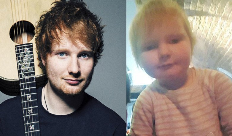 Two Year Old Girl Looks Like Shape Of You Singer Ed Sheeran, Photo Gone Viral