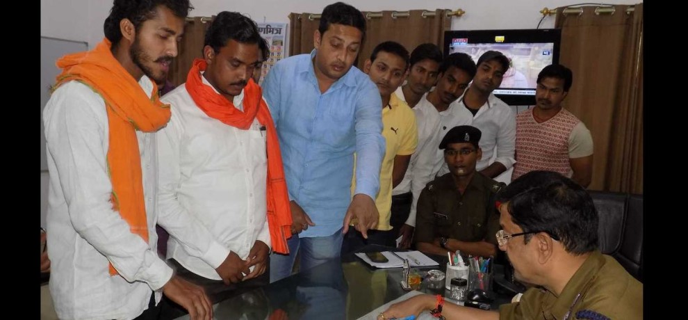 Two person arrested after  objectionable photo post of cm adityanath