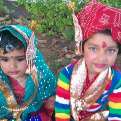 no entry for man in gangaur festival