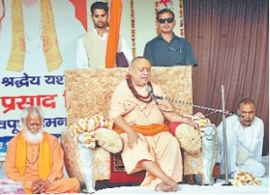 time will say CM's promice and work : Rajeshwerashram