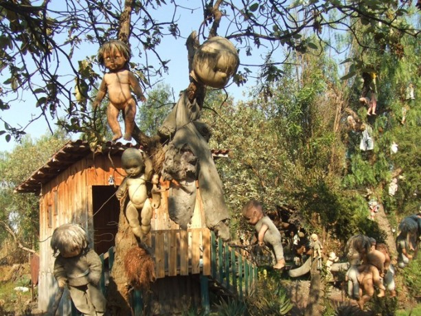 Mexico's Creepiest Place: Island of The Dolls