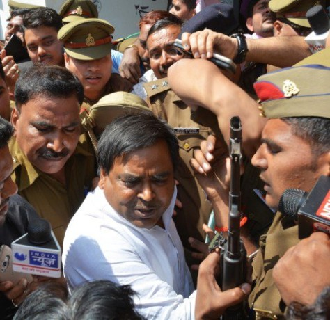 after gangrape case gayatri prajapati now charged for cheating in lucknow