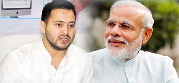 Tejashwi taunts PM Modi on demands for special state status