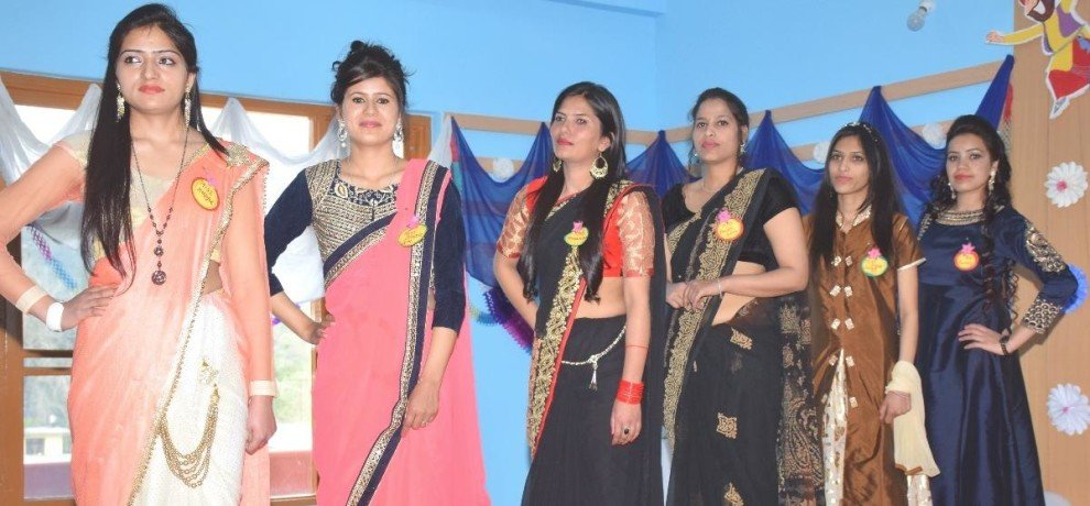 Farewell party in chamunda nursing institute