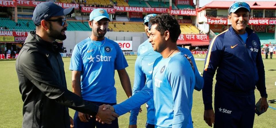 Kuldeep yadav Becomes 1st Chinaman Spinner of India, Rahane Becomes 33rd Indian Test Captain