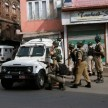 terrorist attack on pdp minister house in kashmir