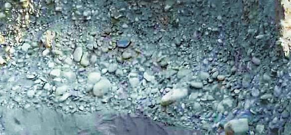 Large scale illegal mining in Mahakali