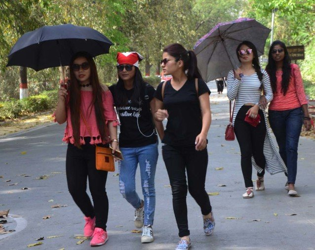 Heat waves in chandigarh, chandigarh hot weather