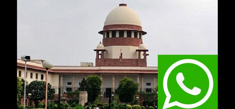 supreme court pass an order of whatsapp data sharing policy
