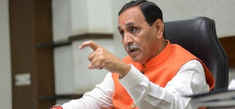 Gujarat CM Vijay Rupani says I Stopped My Speech after hearing The Azaan