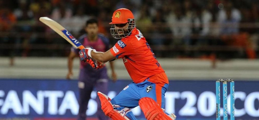 IPL 2017: Suresh Rain has scored 300 or more runs in all 10 IPL edition, only player to do so.