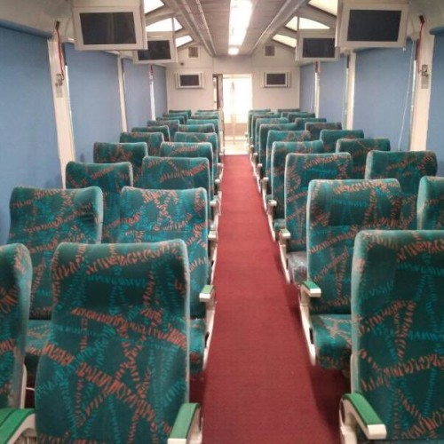 Railway makes airplanes like Vistadome coach, see pictures