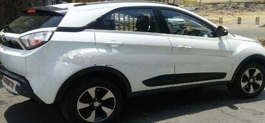Tata Nexon spied without camouflage, to be launched soon
