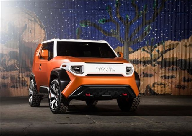 Toyota revealed concept FT-4X SUV at New York