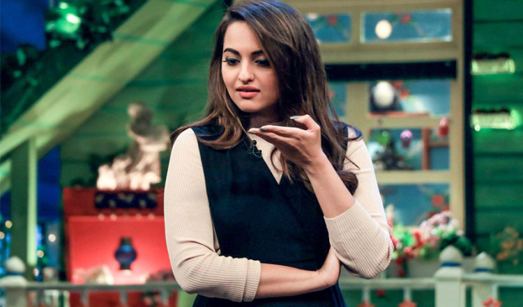 sonakshi sinha got angry in the kapil sharma show over comment on weight