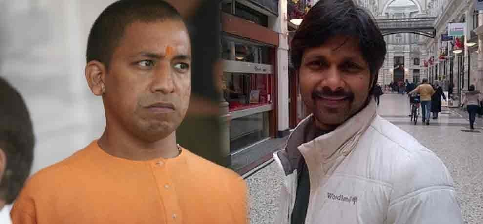 know all about ias officer hari om who sent yogi adityanath for 11 days of jail in 2007