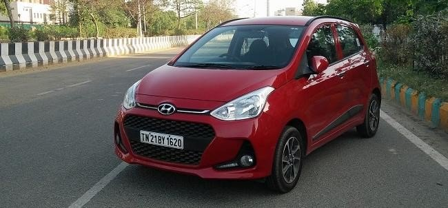 Road test Review of face lifted hyundai grand i10