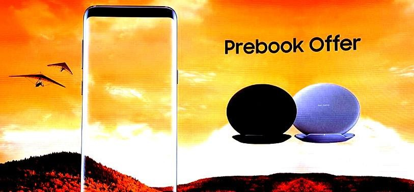 Samsung Galaxy S8 and Galaxy S8+ pre booking starts with 3 offer