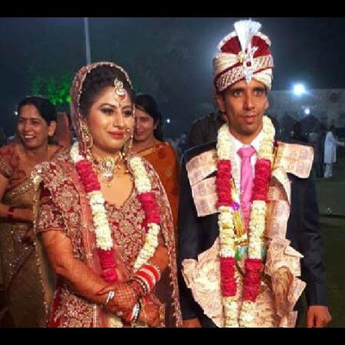 indian hockey team player mandeep antil weds with btech pass monika