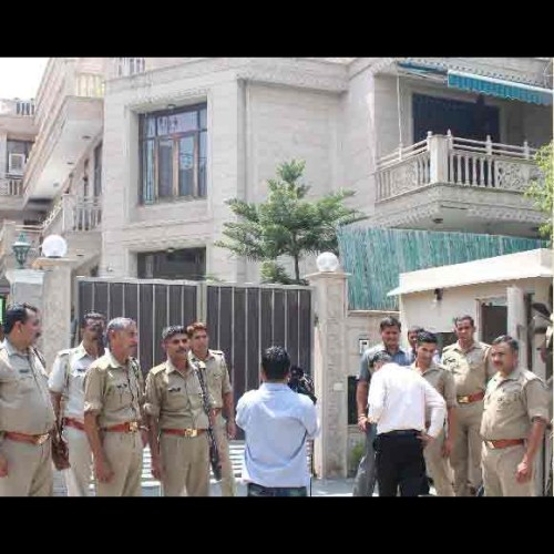 former osd yashpal tyagi property list in Income tax department raid