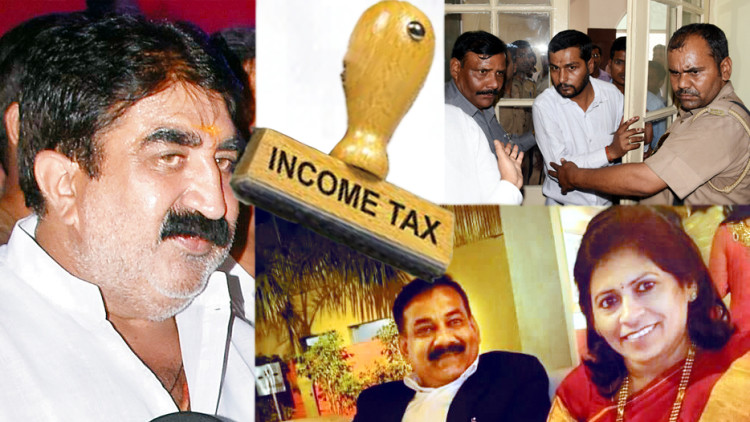 income tax raids continue