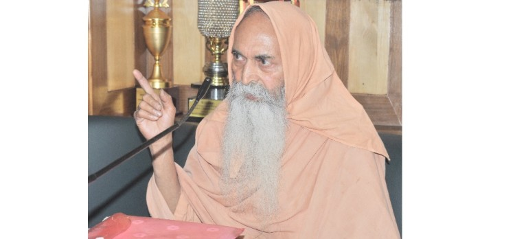 swami gaurishwranand puri press conference in shimla