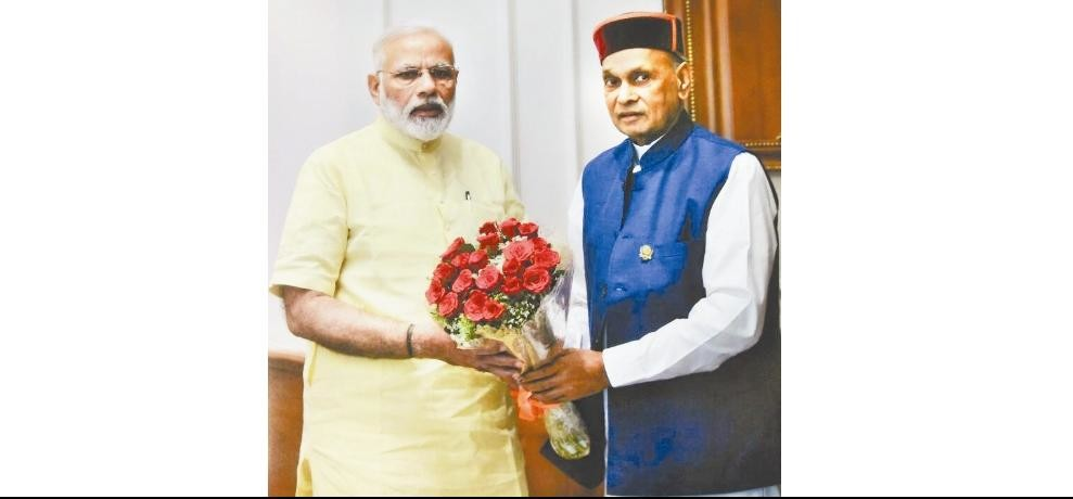 prem kumar dhumal meets with pm narendra modi
