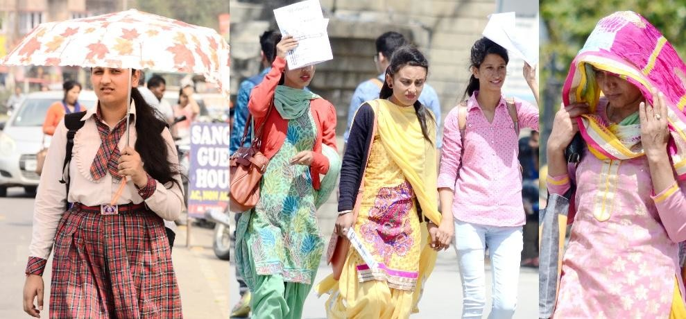 Himachal Una Distt temperature soars to 43 degrees, heat wave to continue
