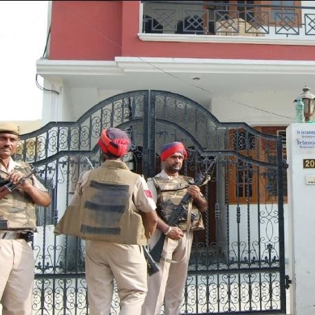 police and stf arrested four gangsters in jalandhar
