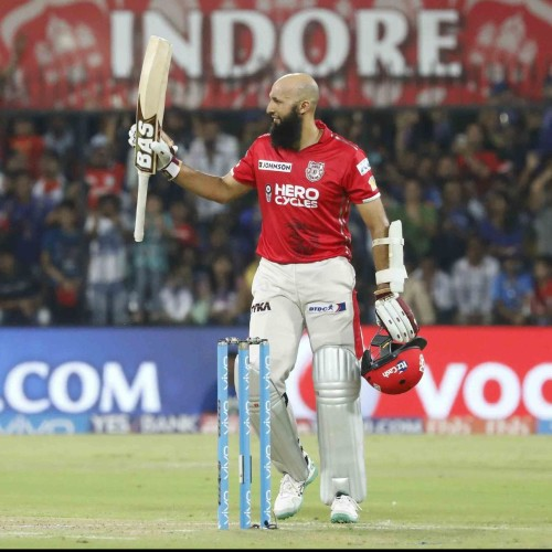 Hashim amla became 8th player to score century in the losing cause in IPL
