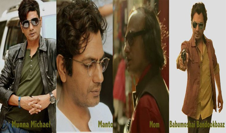 Nawazuddin Siddiqui Post Photo Of His Looks In Upcoming Films 'Mom', 'Manto' & 'Munna Michael'