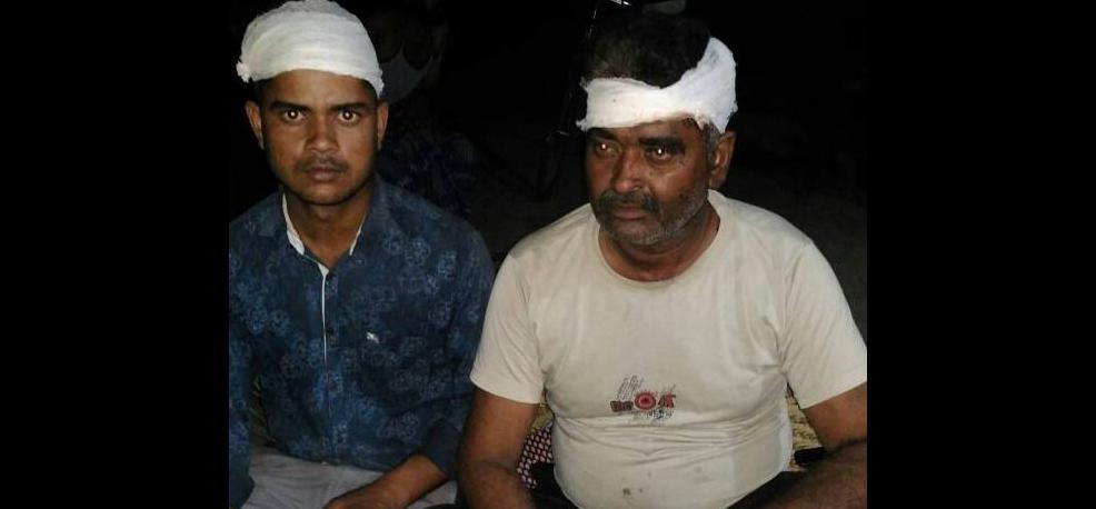 Two youths stabbed, petrol pump recovered from petrol pump...
