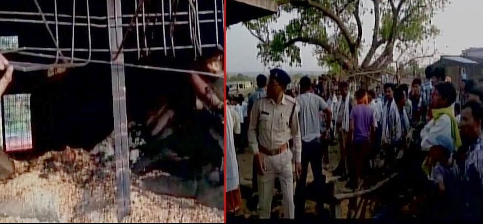 12 dead after fire broke out at a ration store in Chhindwara district of MP