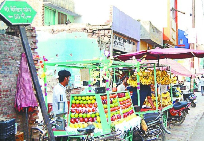 Encroachment on roads, walking too difficult