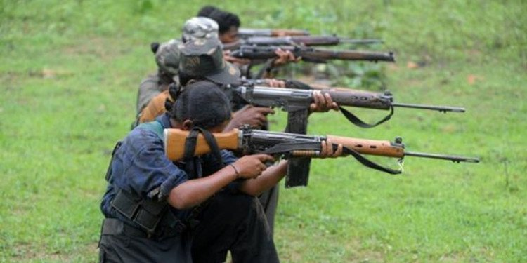 eight naxals arrested from Sukma Chinta Gufa area Chhattisgarh