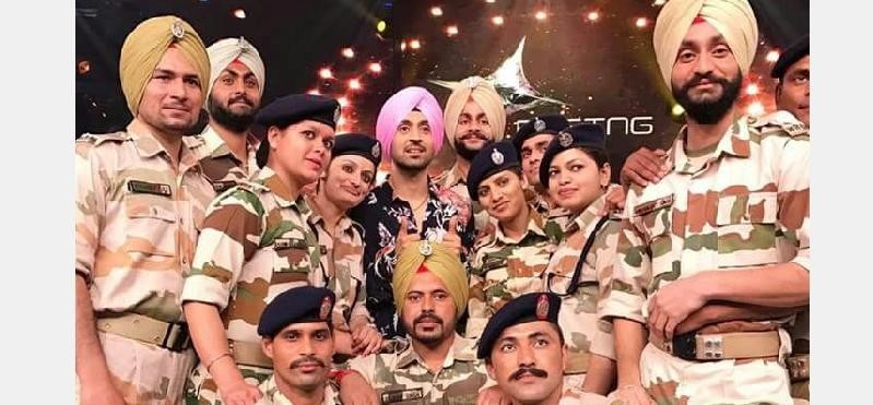 ITBP Solider Vikramjeet Singh in Reality Show Rising Star.