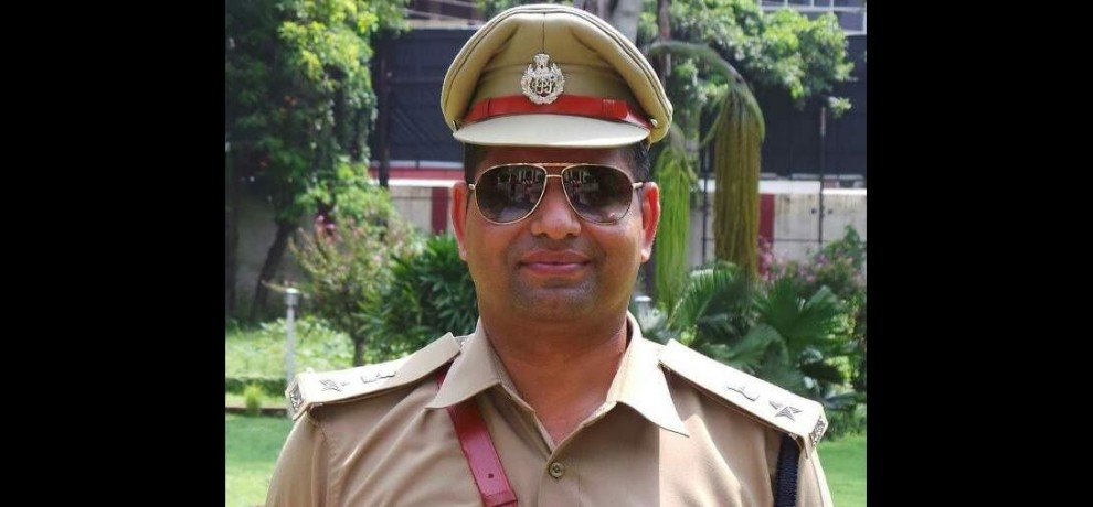 ssp deepak kumar clash with sp rank officer during vip briefing