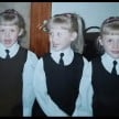 world's most identical triplets models